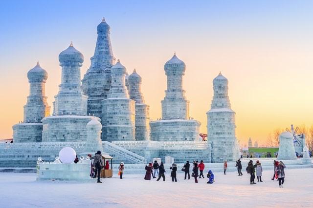 दुनिया में सबसे कम तापमान हार्बिन, चीन - Harbin, China Lowest Temperature In World In Hindi