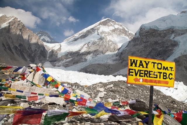 माउंट एवरेस्ट की ऊंचाई कितनी है - Height Of Mount Everest In Hindi