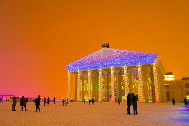 वर्ल्ड की सबसे ठंडी जगह अस्थाना, कज़ाखस्तान - Astana, Kazakhstan Lowest Temperature In World In Hindi