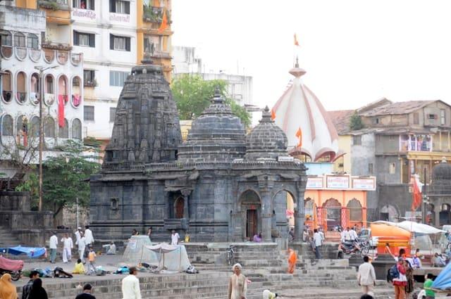 नासिक के धार्मिक स्थल कालाराम मंदिर नासिक - Kalaram Mandir Nashik In Hindi