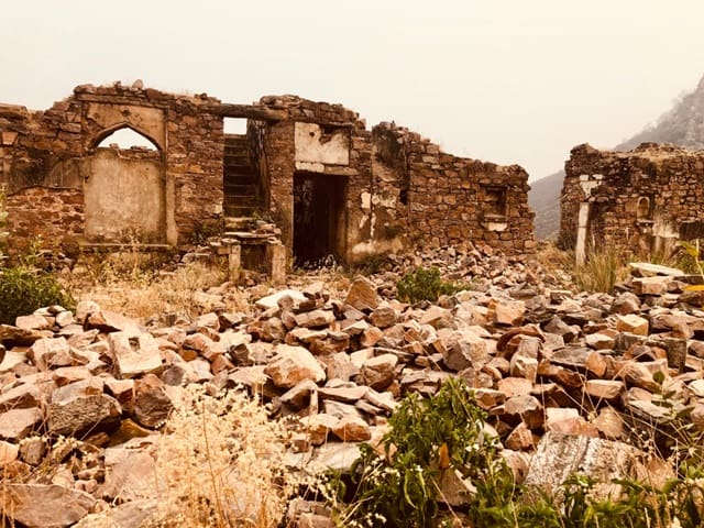भानगढ़ किला खुलने का समय - Opening Timings/ Entry Timings For Bhangarh Fort In Hindi