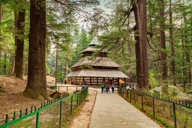 हिडिंबा देवी मंदिर कैसे पहुंचें - How To Reach Hadimba Temple In Hindi