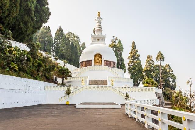 शांति स्तूप पोखरा नेपाल - Shanti Stupa Pokhara Nepal In Hindi
