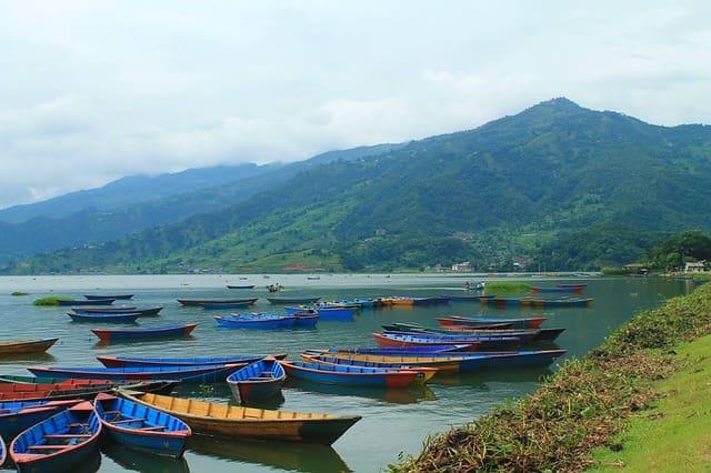 फेवा झील पोखरा नेपाल - Phewa Lake Pokhara Nepal In Hindi