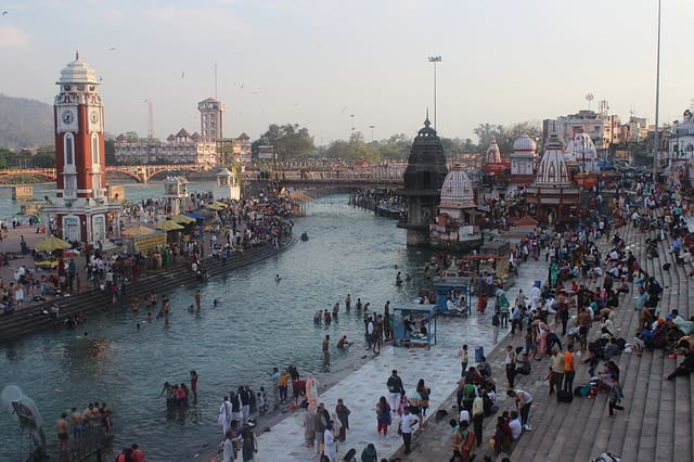 हरिद्वार में घूमने की प्रमुख जगह हर की पौड़ी - Har Ki Pauri Tourist Place In Haridwar In Hindi