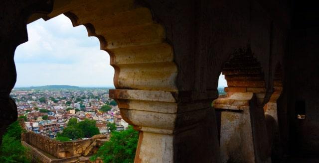 झाँसी के किले का इतिहास - History Of The Fort Of Jhansi In Hindi