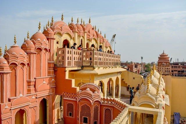 हवा महल की वास्तकुला - Architecture Of Hawa Mahal In Hindi