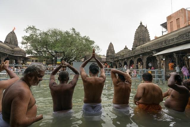 नासिक के धार्मिक स्थल त्र्यंबकेश्वर मंदिर नासिक - Trimbakeshwar Shiva Temple Nashik In Hindi