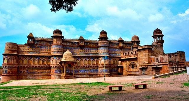 मान मंदिर महल ग्वालियर - Man Mandir Palace Gwalior Fort In Hindi