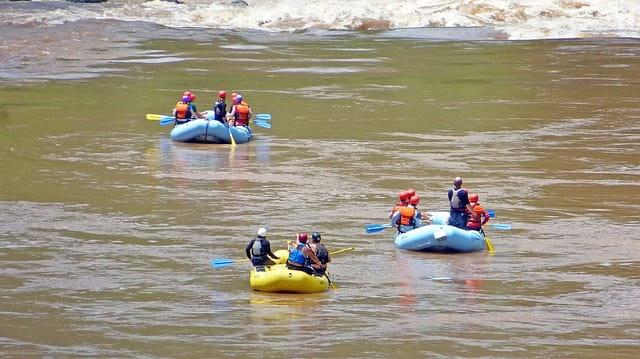 पश्चिमी भारत में राफ्टिंग के लिए सबसे अच्छी जगह कुंडलिका नदी - Kundalika River Pashchimi Bharat Me River Rafting Ki Acchi Jagha In Hindi