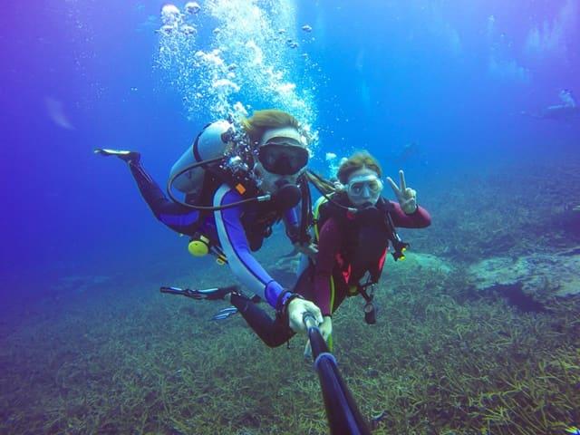 कोवलम केरल में स्कूबा डाइविंग - Kovalam Kerala Scuba Diving In Hindi