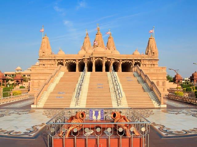 अक्षरधाम मंदिर, नागपुर - Akshardham Temple Nagpur In Hindi