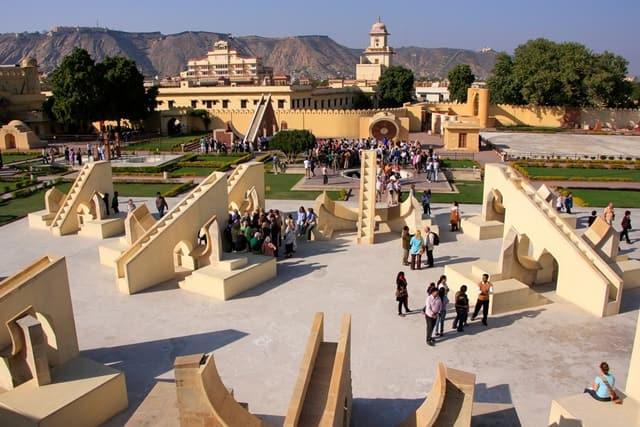 जंतर मंतर की संरचना - Structure Of Jantar Mantar In Hindi