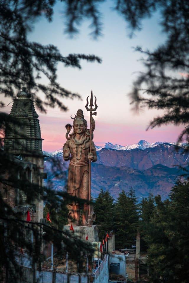 भगवान शिव की प्रतिमा खाज्जिअर हिमाचल प्रदेश की सबसे बड़ी मूर्ति - Lord Shiva Statue Khajjiar Himachal Pradesh Ki Sabse Badi Murti In Hindi
