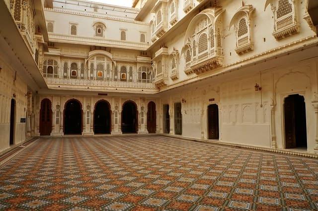 जूनागढ़ किले की वास्तुकला - Junagarh fort Architecture In Hindi