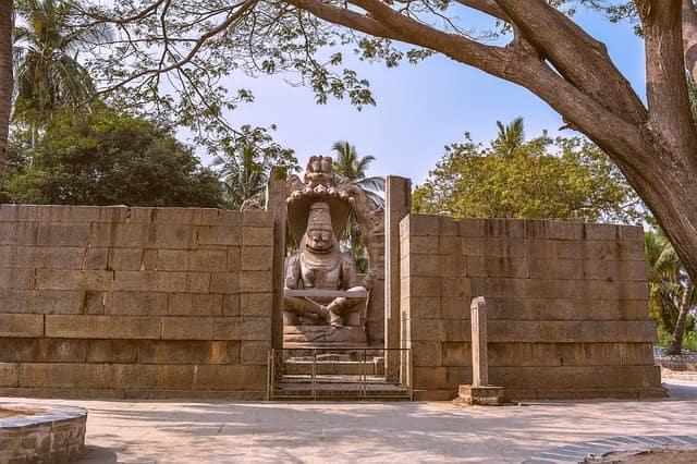 लक्ष्मी नरसिम्हा मंदिर हम्पी - Lakshmi Narasimha Temple Hampi In Hindi