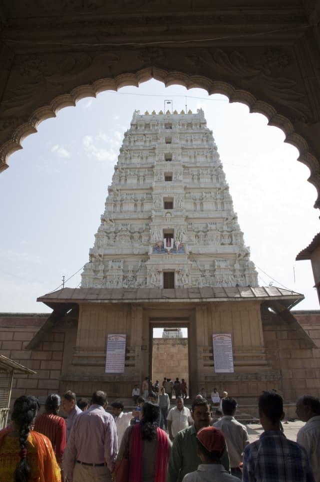 मथुरा के दर्शनीय स्थल रंगजी मंदिर मथुरा - Rangji Temple Mathura in Hindi