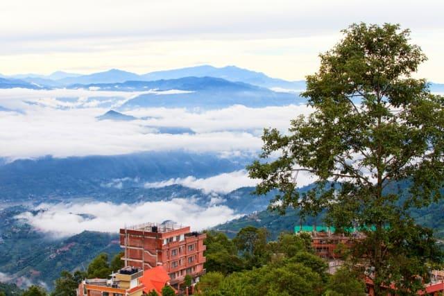 नगरकोट नेपाल में घूमने वाली जगह - Nagarkot Tourism Nepal In Hindi