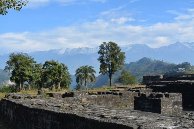 मैकलोडगंज के पास घूमने की जगह कांगड़ा किला कांगड़ा - Kangra Fort Kangra in Hindi