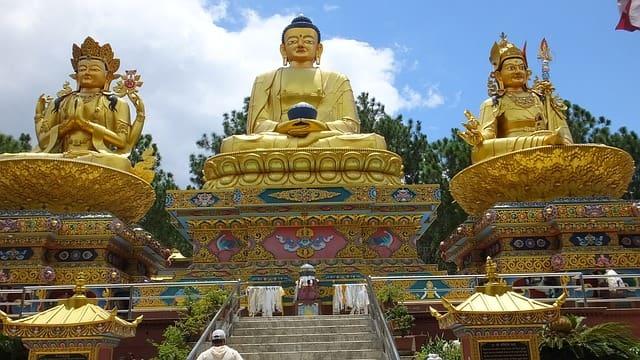 स्वायंभुनाथ (बंदर मंदिर)- Swayambhunath (Monkey Temple) Nepal In Hindi