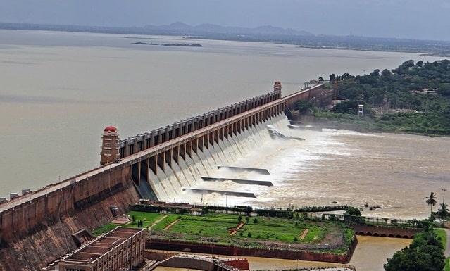 जोग फॉल के पास तुंगा एनीकट बांध शिमोगा - Tunga Dam Shimoga In Hindi