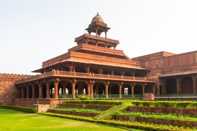 पंचमहल फतेहपुर सीकरी - Panch Mahal Fatehpur Sikri In Hindi