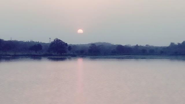 फुटाला झील नागपुर - Futala Lake Nagpur In Hindi
