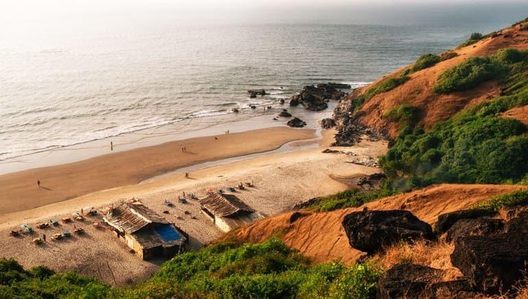 चपोरा बीच गोवा घूमने की जानकारी - Chapora Beach Information In Hindi