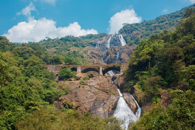 दूधसागर वॉटरफॉल - Dudhsagar Waterfall In Hindi