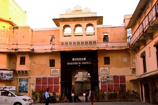 उदयपुर में देखने लायक जगह बागोर की हवेली - Udaipur Mein Dekhne Layak Bagore Ki Haveli In Hindi