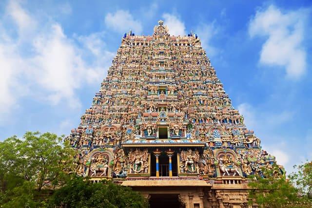 मीनाक्षी मंदिर मदुरै तमिलनाडु