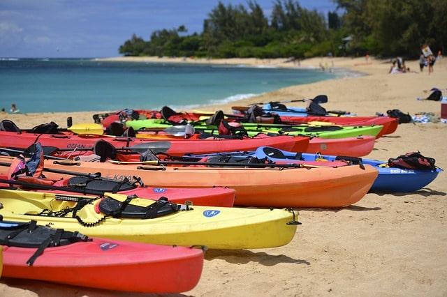 कायाकिंग - Kayaking At Palolem Beach In Hindi