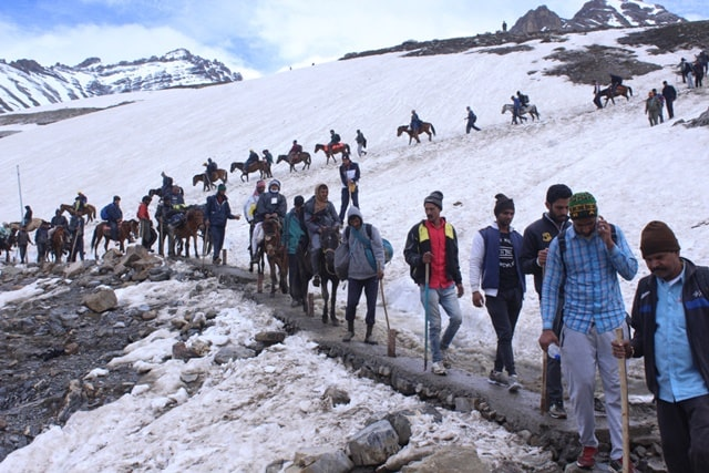 अमरनाथ, जम्मू कश्मीर