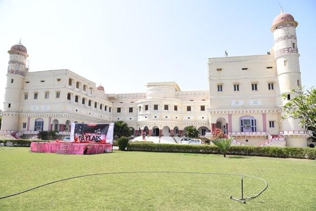 अलवर में देखने की जगह सरिस्का पैलेस- Alwar Me Dekhne Ki Jagha Sariska Palace In Hindi