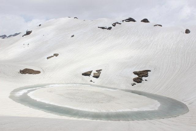 औली कृत्रिम झील - Kermit Lake In Hindi