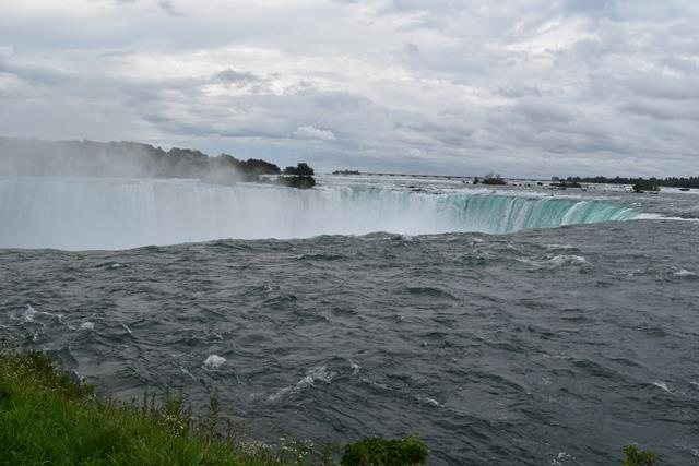 नियाग्रा जलप्रपात की लम्बाई और चौड़ाई - Niagara Water Falls Length And Wide In Hindi