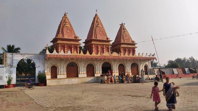 कपिल मुनि मंदिर गंगा सागर - Kapilmuni Temple Gangasagar In Hindi