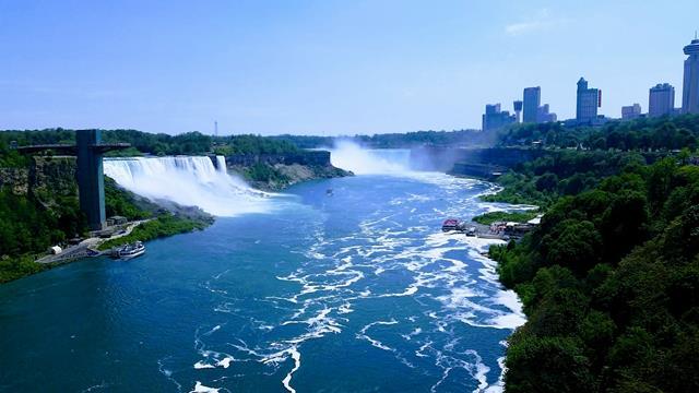 नियाग्रा जलप्रपात किस नदी पर स्थित है - Niagara Waterfalls On Which River In Hindi