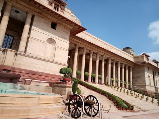 राष्ट्रपति भवन का आंतरिक भाग - Inside The Rashtrapati Bhavan In Hindi