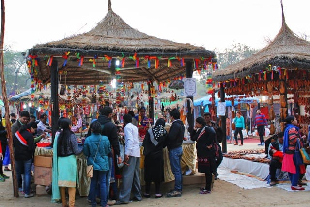 सूरजकुंड मेला फरीदाबाद पर्यटन स्थल - Surajkund Mela Faridabad Paryatan Sthal In Hindi