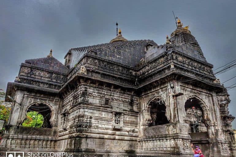 त्र्यंबकेश्वर मंदिर महाराष्ट्र के बारे में जानकारी - Information About Trimbakeshwar Temple In Hindi