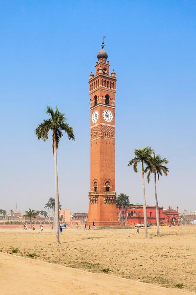 भारत का सबसे लंबा क्लॉक टावर हुसैनाबाद क्लॉक टॉवर - India Ka Sabse Lamba Clock Tower Husainabad Clock Tower In Hindi