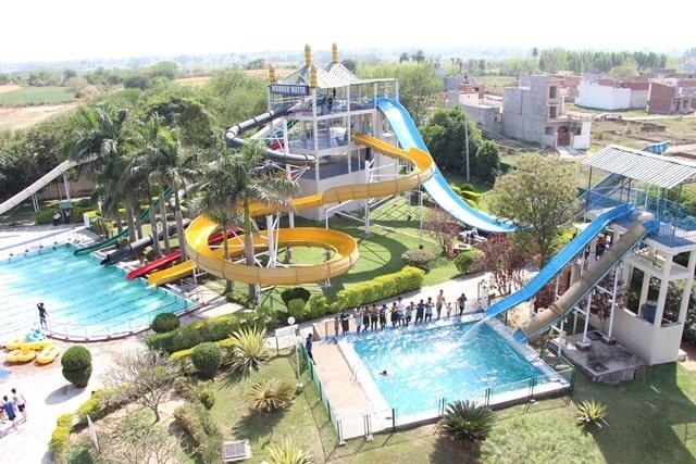 चंडीगढ़ में घूमने की जगह फन सिटी - Chandigarh Me Gumne Ki Jagha Fun City In Hindi