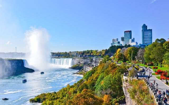 नियाग्रा जलप्रपात कहाँ स्थित है - Niagara Water Falls In Which Country In Hindi