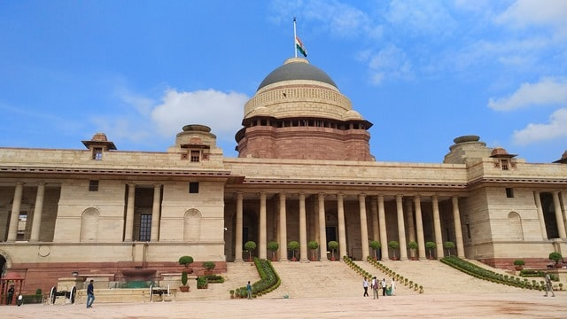 राष्ट्रपति भवन की संरचना – Architecture Of Rashtrapati Bhavan In Hindi
