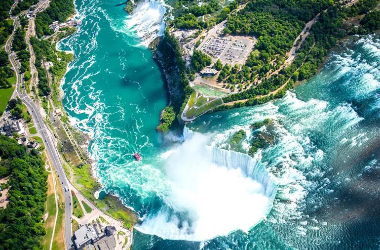 नयाग्रा फॉल्स कनाडा - Information About Niagara Falls Canada In Hindi