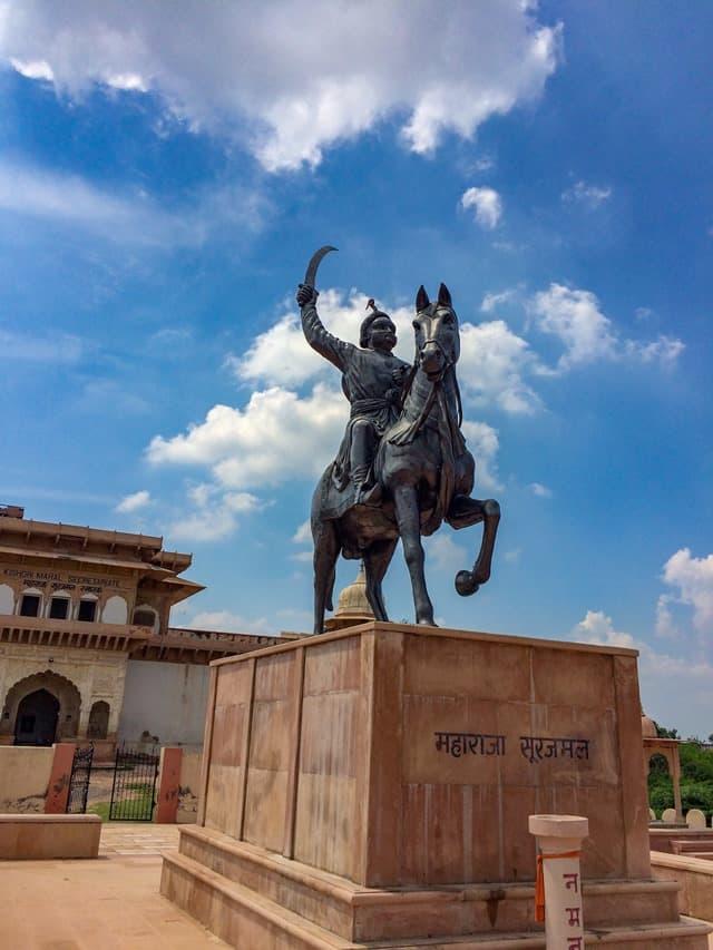 भरतपुर पर्यटन का आकर्षण स्थान भरतपुर पैलेस और संग्रहालय - Bharatpur Tourism Ka Aakarshan Sthal Bharatpur Palace & Museum In Hindi