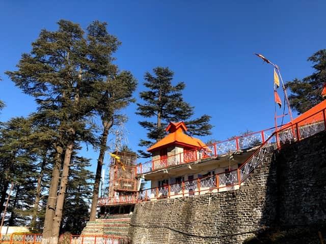 जाखू मंदिर में दशहरा समारोह