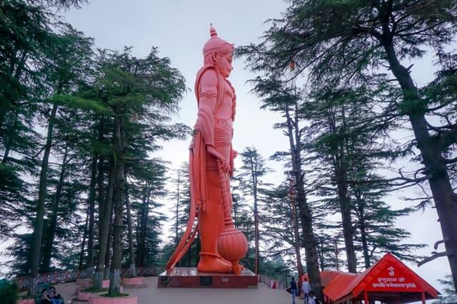 जाखू मंदिर का इतिहास और पौराणिक कथा