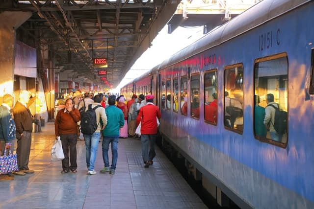 ट्रेन से भरतपुर कैसे पहुंचे - How To Reach Bharatpur By Train In Hindi